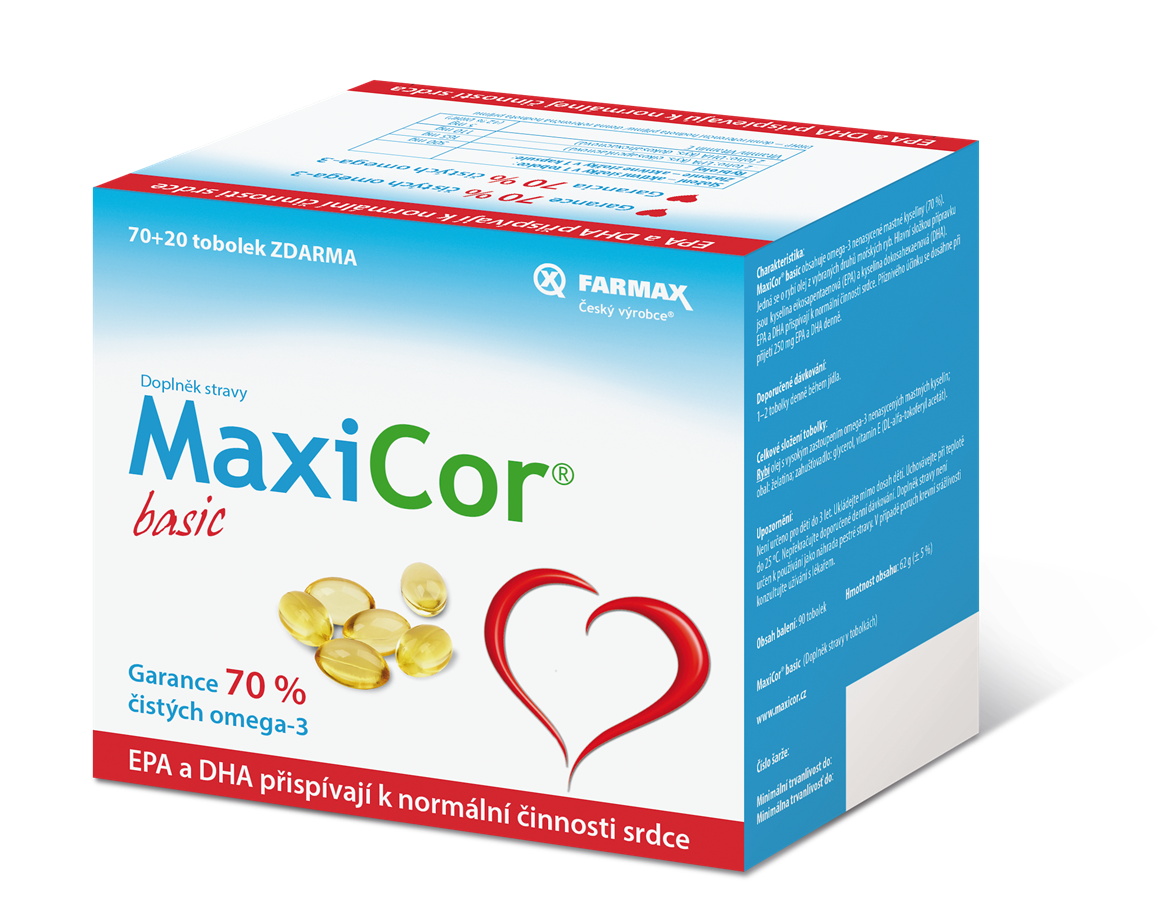 MaxiCor basic – 90 tobolek